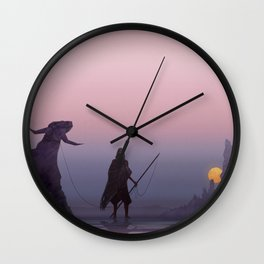 Pilgrimage Wall Clock