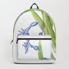 Wild hyacinth Backpack