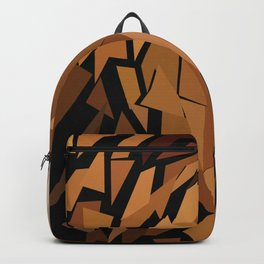 Lion Low Poly Art Print Backpack