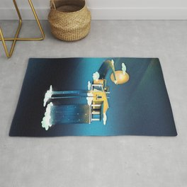 Castle in Heaven Rug