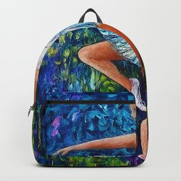 Dance In The Rain Of Color Backpack