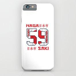 Hiroshima and Nagasaki iPhone Case