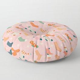 Christmas socks Floor Pillow