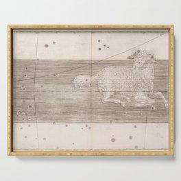 Johann Bayer - Uranometria / Measuring the Heavens (1661) - 20 Aries Serving Tray