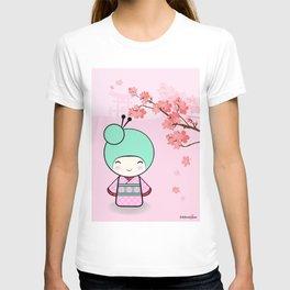 Kokeshi doll - Sakura T-shirt