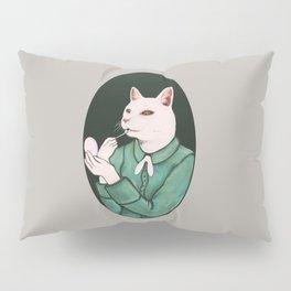 Cat Lip Pillow Sham