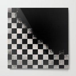 Black in time Metal Print
