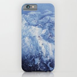 Winter Mountain Range II iPhone Case