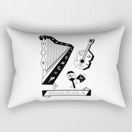 Venezuelan Tipical Music Instruments Rectangular Pillow