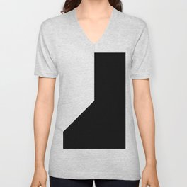 OVERSIMPLE (BLACK-WHITE) Unisex V-Neck