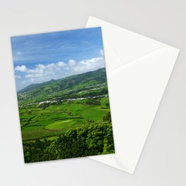 Azores islands landscape Stationery Cards