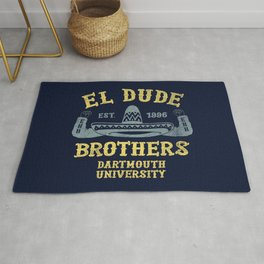 The Peep Show - El Dude Brothers Rug
