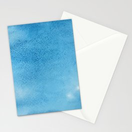 Watercolor Texture Pattern Stationery Cards