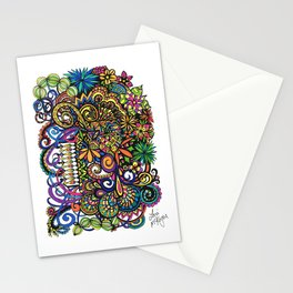 Life's a Circus Stationery Cards