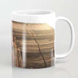 Sun Over Stone Temple Coffee Mug