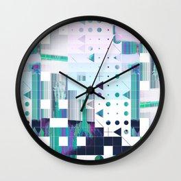 glytchwwt Wall Clock
