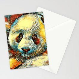 AnimalArt_Panda_20170601_by_JAMColorsSpecial Stationery Cards