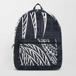 Hawaiian - Samoan - Polynesian Old Tribal Backpack