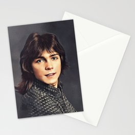 David Cassidy, Hollywood Legend Stationery Cards