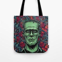 Frankenstein Halloween Party Tote Bag