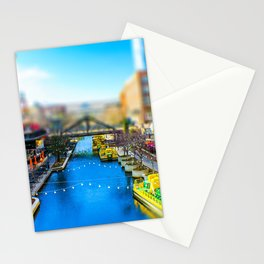 Riverwalk Canal by Monique Ortman Stationery Cards