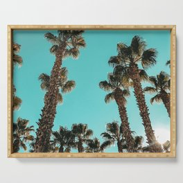 16 Palm Trees Art Print {1 of 2} Serving Tray