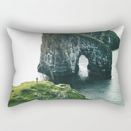 faroe landscape Rectangular Pillow