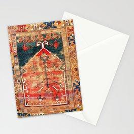 Konya Central Anatolian Niche Rug Print Stationery Cards