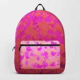 Foliage Gradient in Shades of Pink Backpack