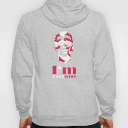 I'm handsome abstract face Hoody