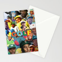 collage tyler the head Stationery Cards