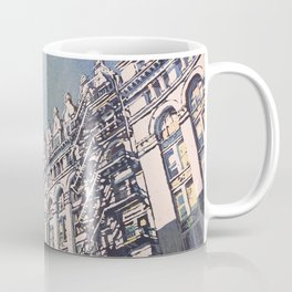 Watercolor painting of exterior of City Hall in Milwaukee, WI (USA) Coffee Mug