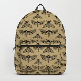 Antique Deaths Head Hawk Moth Pointillism Backpack