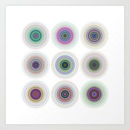 3x3 06 Art Print