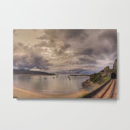 Barmouth Harbour Metal Print
