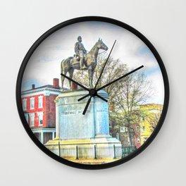 Richmond VA,Stonewall Jackson Monument,Richmond Virginia Wall Clock