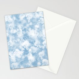Clouds Pattern Stationery Cards