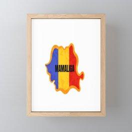 Romania | Sarmale | Mamaliga | 1 Decembrie | Ziua nationala | Clothes | Familie | Family Framed Mini Art Print