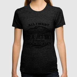 Jet-Ski watercraft water bob T-shirt