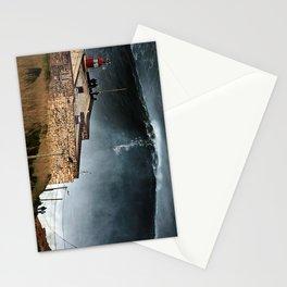 Nazaré - ride the wave Stationery Cards