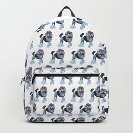 Posh Punk Poodle Backpack
