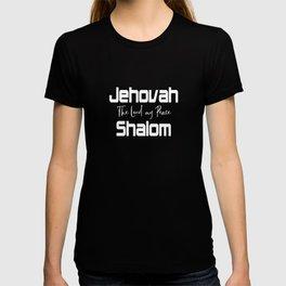 Christian Design - Jehovah Shalom, Peace T-shirt