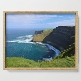 More Moher Cliffs Serving Tray