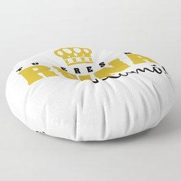Tu eres mi Reina Floor Pillow