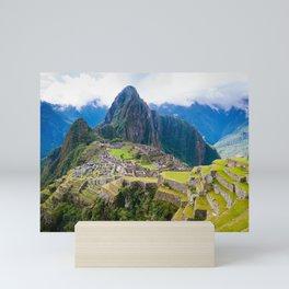 Breathtaking Machu Picchu Mini Art Print