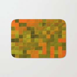 little colored squares -2- Badematte