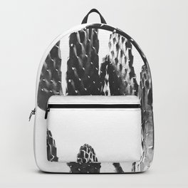 Cactus Photography Print {3 of 3} | B&W Succulent Plant Nature Western Desert Design Decor Backpack