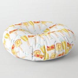 Breakfast Pin-Ups Floor Pillow