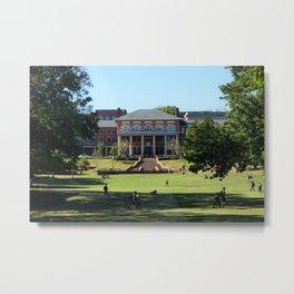 Court of North Carolina on NC State University campus Metal Print