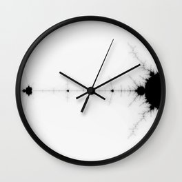 detail on mandelbrot set Wall Clock